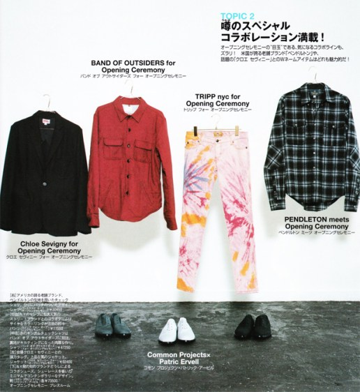 Opening Ceremony Special Collaboration Products
