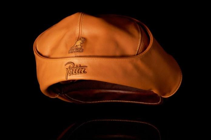 Patta x Kangol Leather Bugatti Hat