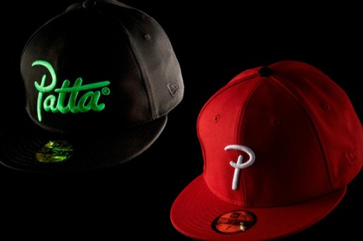 Patta New Era 59Fifty Logo Caps