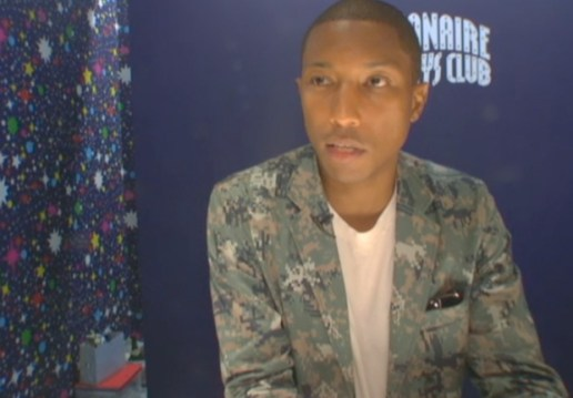 Pharrell Williams: Fashion Night Out Interview