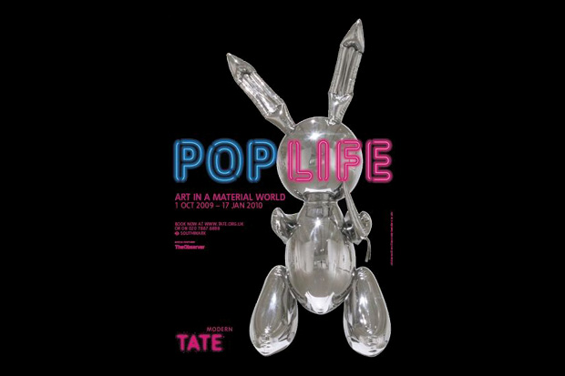 Pop Life: Art in a Material World Exhibition London