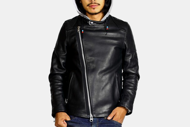 rehacer Vic Leather Jacket