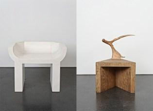 """Rick Owens """"Evolution"""" Furniture Exhibition"""