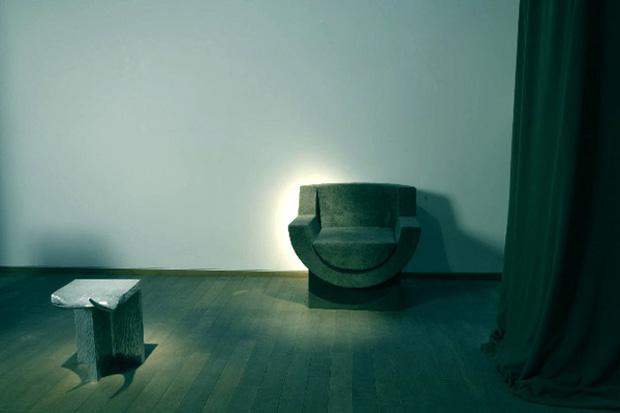 Rick Owens Furniture @ Sebastian + Barquet Gallery London