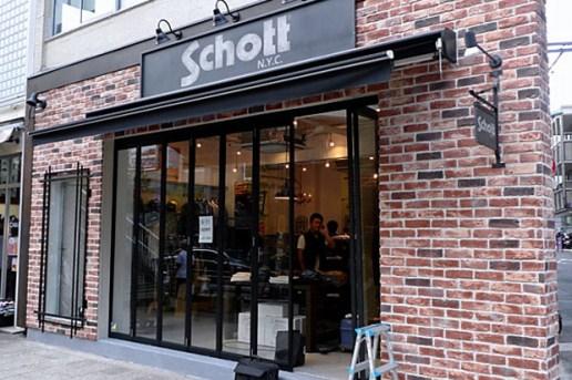 Schott NYC Tokyo Store Opening