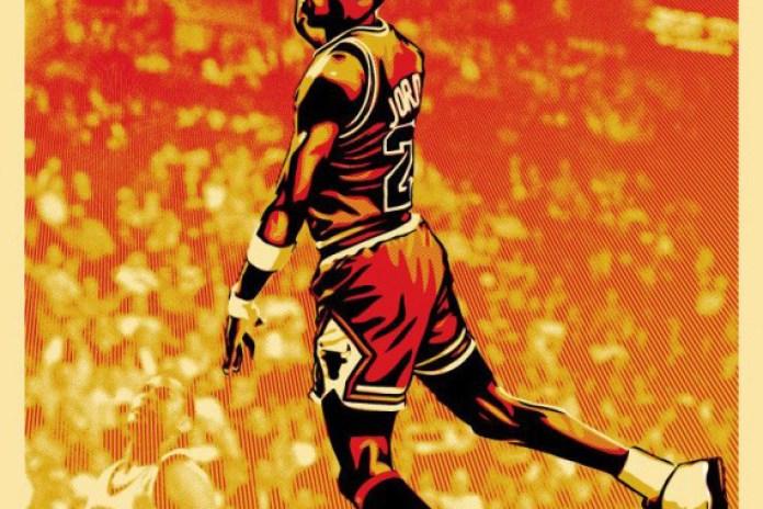 Shepard Fairey x Michael Jordan Poster Series