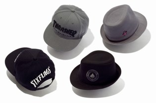 Six Flags x Thrasher Magazine Hat Collection