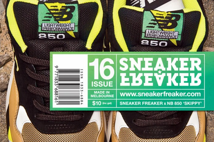 Sneaker Freaker x New Balance 850 Preview