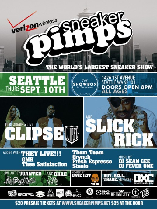 Sneaker Pimps 2009 Seattle