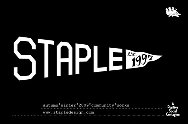 Staple 2009 Fall Graphics Collection