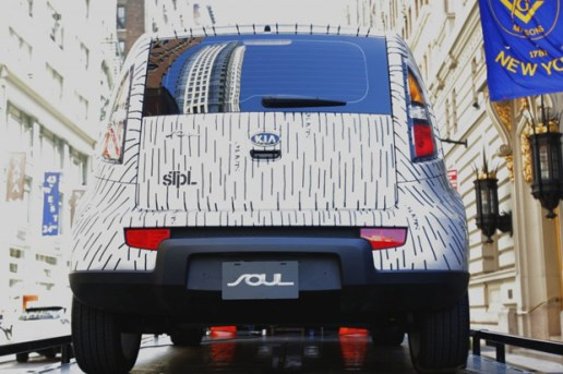 "STAPLE DESIGN x Kia Soul ""Rain Camo"""