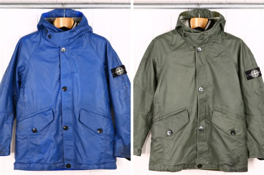 Stone Island Waxed Ice Jacket