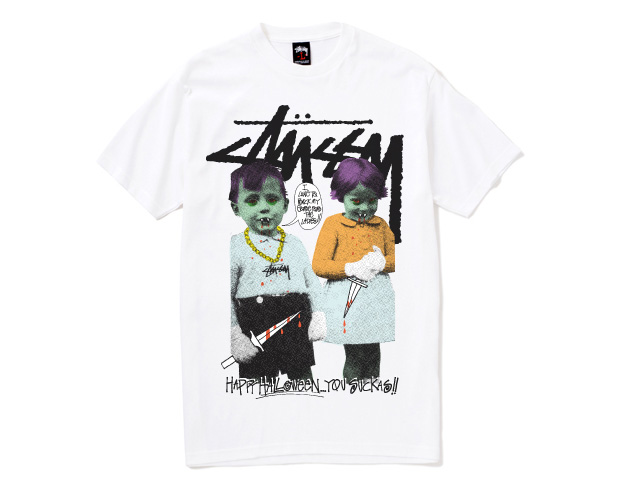 "Stussy ""Rock My Gore"" Halloween T-Shirt"
