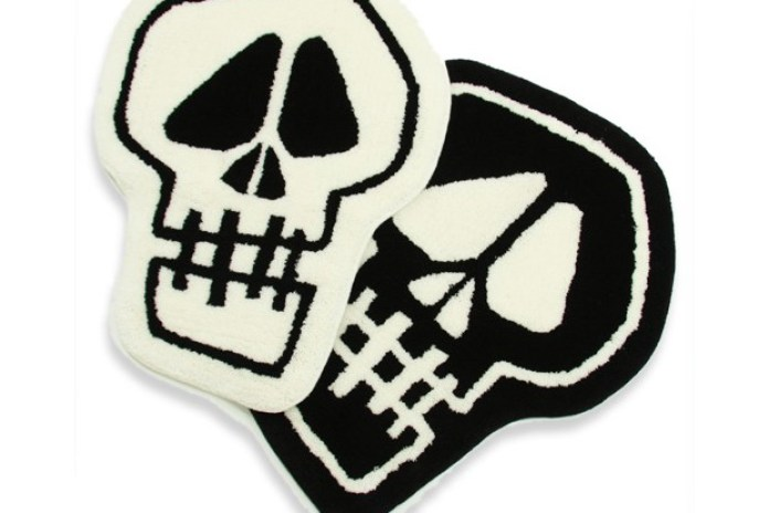 Stussy Skull Rag Mat by Gallery 1950