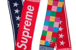 Supreme x uniform experiment Supporter Muffler