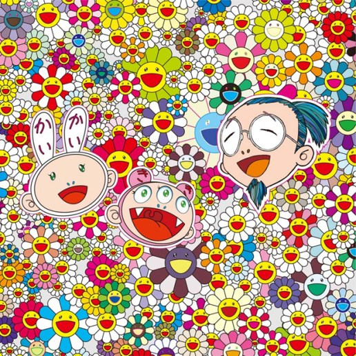 "Takashi Murakami ""Self-Portraits"" Exhibition Preview"