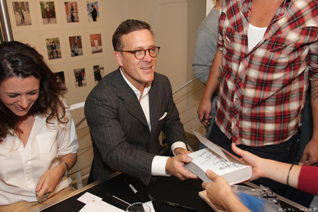The Sartorialist Book Signing at colette