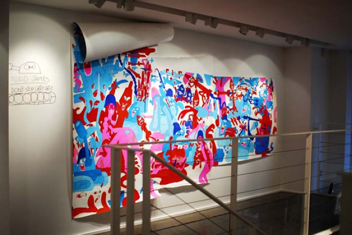"""Todd James REAS """"Don't Stop Get It Get It"""" Exhibition"""