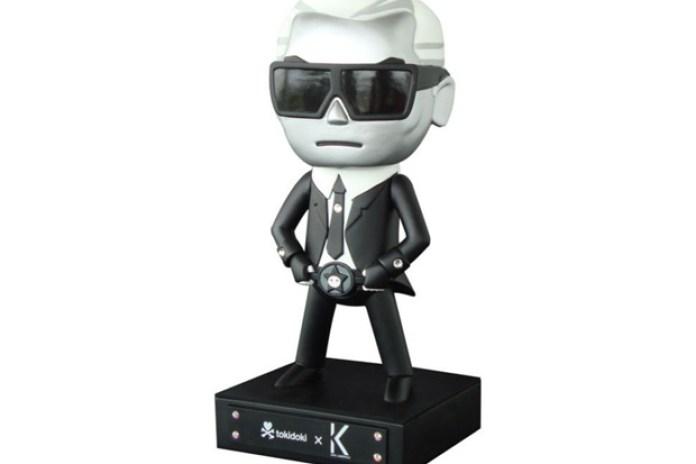 "Tokidoki ""Karl Lagerfeld"" Toy Figure"