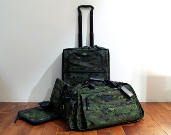 TUMI Alpha Collection Digi Camo Luggage Set