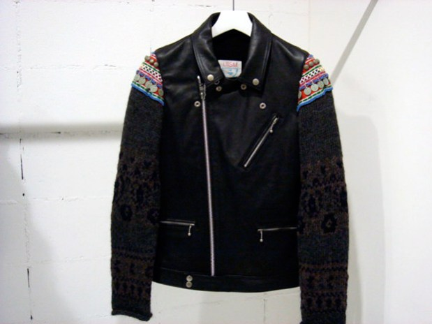 UNDERCOVER 2009 Fall/Winter Leather Jacket