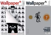 Wallpaper Magazine - Guest Editor Issue with Karl Lagerfeld & Philippe Starcks