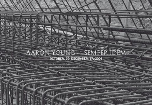 Aaron Young - Sember Idem Exhibition