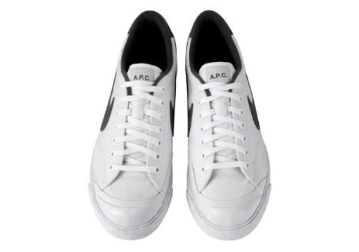 A.P.C. x Nike Sportswear All Court White/Black