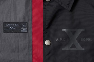 A.P.C. x SOPH. 10th Anniversary Coach Jacket