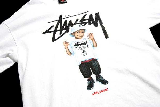 """Applebum x Stussy """"WT Tee Kid"""" T-shirt"""