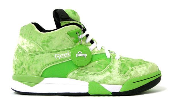 atmos x Reebok Pump Velour Pack