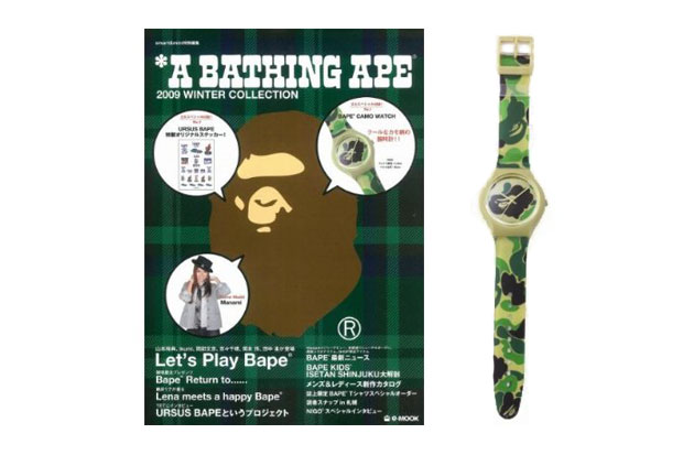 A Bathing Ape 2009 Winter Collection Catalog