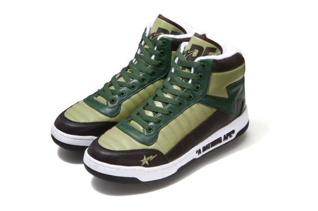 "A Bathing Ape Bapesta 88 ""Wood Land"""