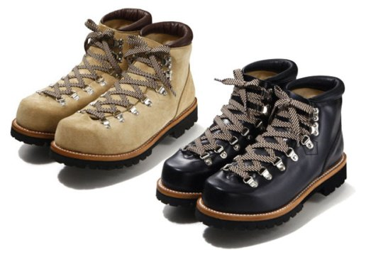 A Bathing Ape Mountain Soldier Hiking Boots
