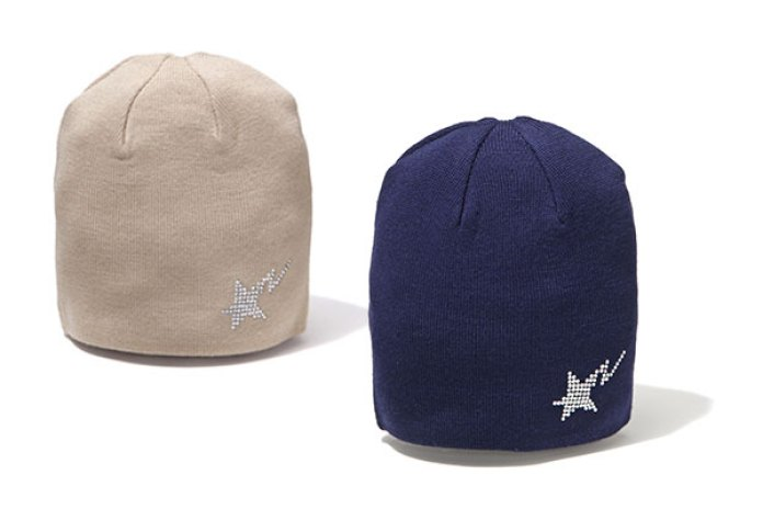 A Bathing Ape Sta Swarovski Knit Caps