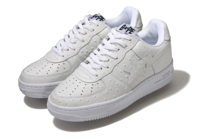 "A Bathing Ape ""Ostrich"" Bapesta Pack"