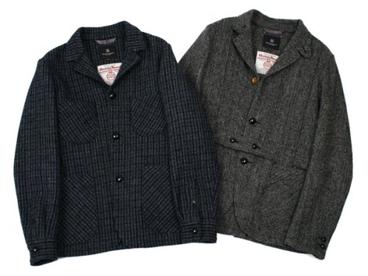Beauty & Youth Harris Tweed 2009 Fall/Winter Jacket Collection
