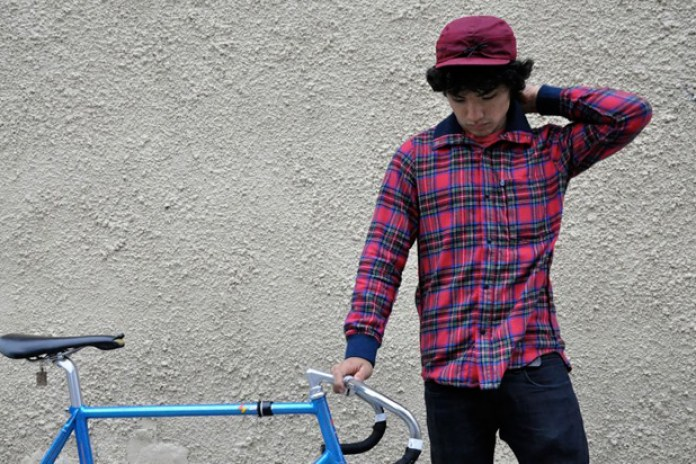 Chari & Co. x Steven Alan Flannel Riding Shirt