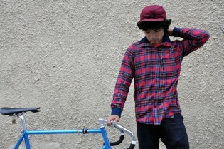 Chari & Co. x Steven Alan Flannel Riding Shirt