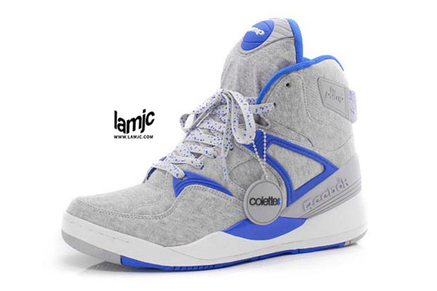 colette x Reebok Pump 20th Anniversary Sneakers