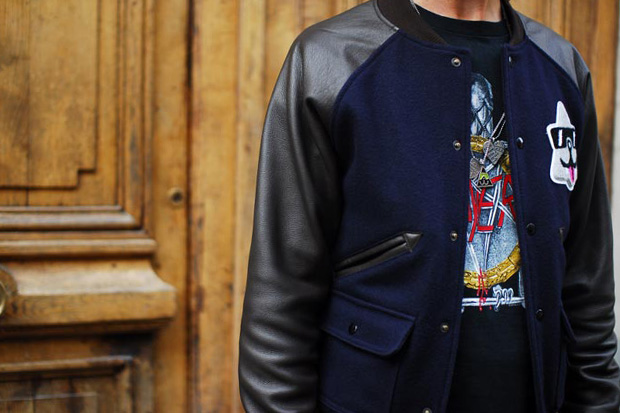 Cool Cats x Wings + Horns Melton Wool Award Varsity Jacket Preview