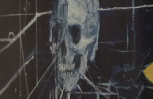 Damien Hirst - The Blue Paintings Preview (Video)