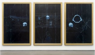 "Damien Hirst ""The Blue Paintings"" Exhibition Recap"