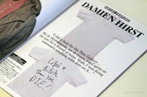 Damien Hirst for Supreme Spot Decks and Box Logo Tee