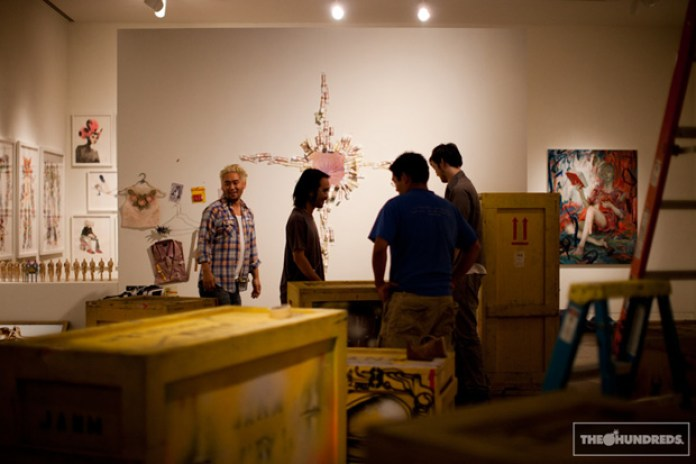 David Choe for Giant Robot Biennale Exhibition Preview (NSFW)