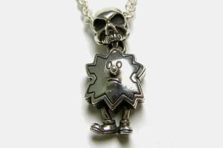Devilock x Garni Palmboy & Skull Necklace