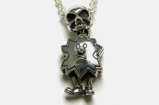 Devilock x Garni Palmboy & Skull Necklace