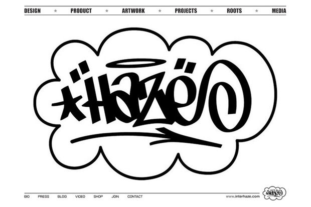 Eric Haze Website Relaunch