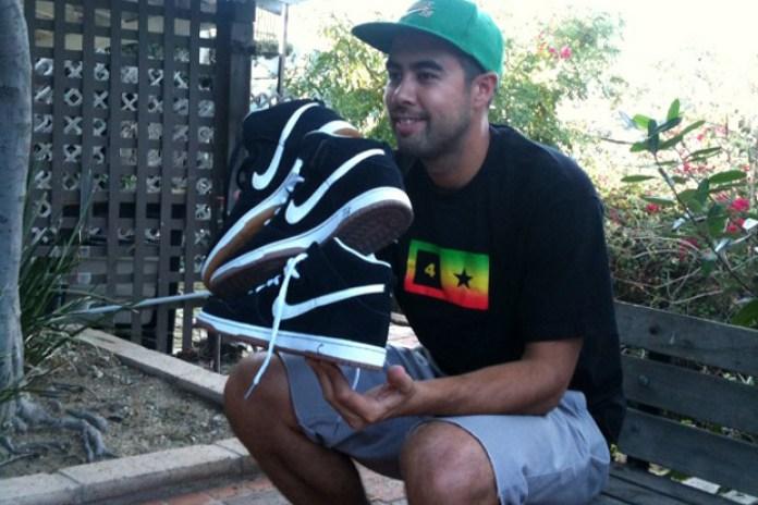 Eric Koston x Nike SB Black/Gum Dunk Hi Preview
