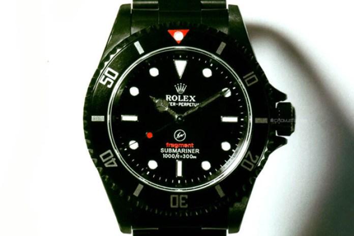 fragment design for SOPH. 10th Anniversary Custom Rolex Submariner
